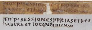 Ulpian-Fragment: ÖNB Cod. 1, fol. 8r und ÖNB cod. 9492, fol. 102r